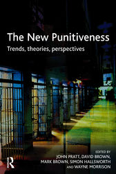 The New Punitiveness by John Pratt