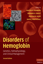 Disorders of Hemoglobin by Martin H. Steinberg