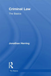 Criminal Law: The Basics by Jonathan Herring