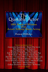 The Quotable Actor by Damon DiMarco