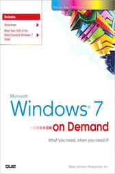 Microsoft Windows 7 On Demand, Portable Documents by Steve Johnson