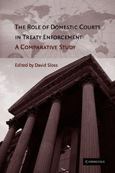 The Role of Domestic Courts in Treaty Enforcement by David Sloss