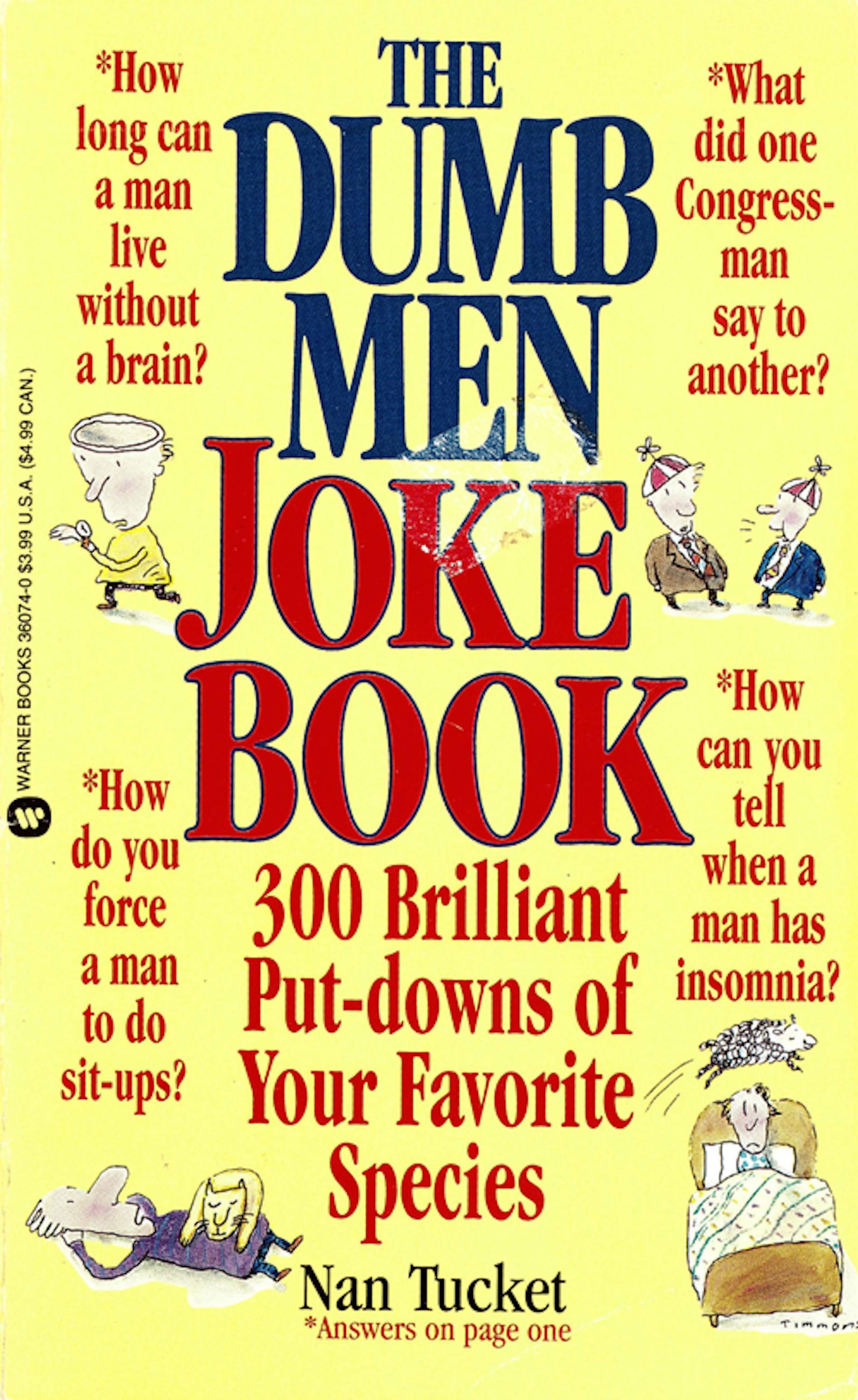 Dumb Men Joke Book - Volume I