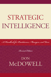 Strategic Intelligence by Don McDowell