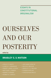 Ourselves and Our Posterity