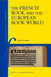 The French Book and the European Book World by Andrew Pettegree