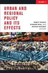 Urban and Regional Policy and its Effects, 2 by Nancy Pindus