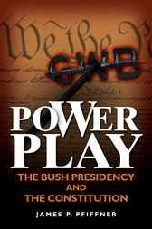 Power Play by James P. Pfiffner