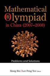 Mathematical Olympiad in China (2007-2008)