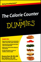 The Calorie Counter For Dummies by Rust;  Meri Raffetto