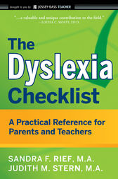 The Dyslexia Checklist by Sandra F. Rief