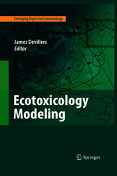 Ecotoxicology Modeling by James Devillers