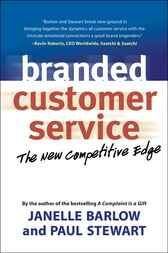 Branded Customer Service by Janelle Barlow