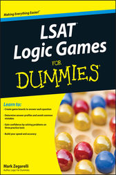 LSAT Logic Games For Dummies by Mark Zegarelli