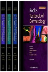 Rook's Textbook of Dermatology, 4 Volume Set by Tony Burns