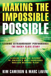 Making the Impossible Possible by Kim Cameron