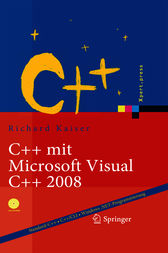 C++ mit Microsoft Visual C++ 2008 by Richard Kaiser