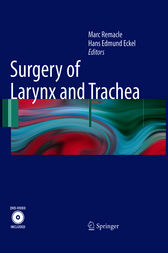 Surgery of Larynx and Trachea by Marc Remacle