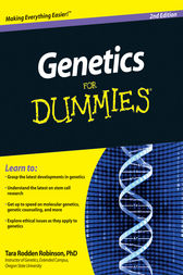 Genetics For Dummies by Tara Rodden Robinson