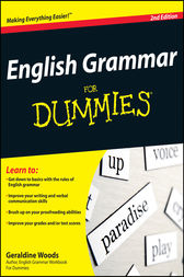 English Grammar For Dummies by Geraldine Woods