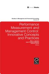 Performance Measurement and Management Control by Marc Epstein