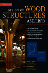 Design Of Wood Structures Asd Lrfd Ebook By Donald Breyer