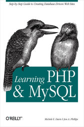Learning PHP and MySQL by Michele E. Davis
