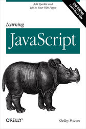 Learning JavaScript by Shelley Powers