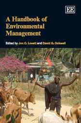 A Handbook of Environmental Management by Jon C. Lovett