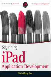 Beginning iPad Application Development by Wei-Meng Lee