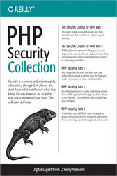 PHP Security Collection by John Coggeshall