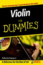 Violin For Dummies by Katharine Rapoport