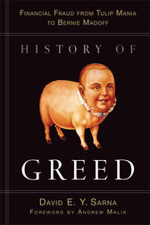 History of Greed by David E. Y. Sarna