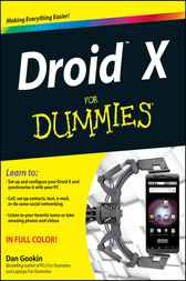 Droid X For Dummies by Dan Gookin