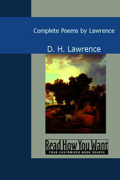 Complete Poems by Lawrence