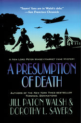 A Presumption of Death by Jill Paton Walsh
