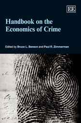 Handbook on the Economics of Crime by Bruce L. Benson