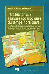 Introduction aux analyses sociologiques du temps hors travail