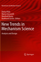 New Trends in Mechanism Science by Doina Pisla