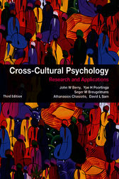 Cross-Cultural Psychology by John W. Berry