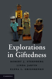 Explorations in Giftedness by Robert J. Sternberg