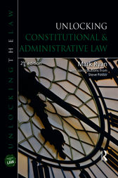 Unlocking Constitutional & Administrative Law by Mark Ryan