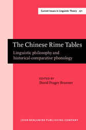 The Chinese Rime Tables by David Prager Branner