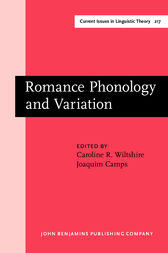 Romance Phonology and Variation by Caroline R. Wiltshire