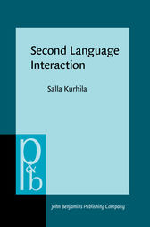 Second Language Interaction by Salla Kurhila