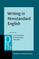 Writing in Nonstandard English by Irma Taavitsainen