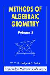 Methods of Algebraic Geometry, Volume 3