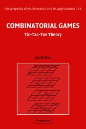 Combinatorial Games by József Beck