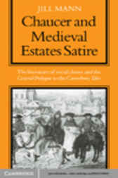 Chaucer and Medieval Estates Satire by Mann