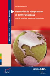 Internationale Kompetenzen in der Berufsbildung by Peter Wordelmann